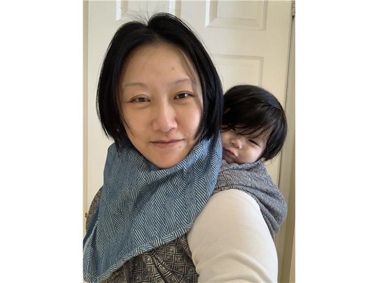 Didymos Wrap Tapered Cowl photo review