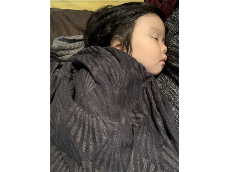 Lambda Linen Woven Baby Wrap photo review