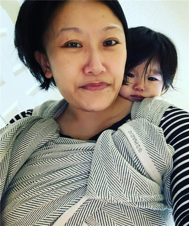 Lisca Grigio Woven Baby Wrap photo review
