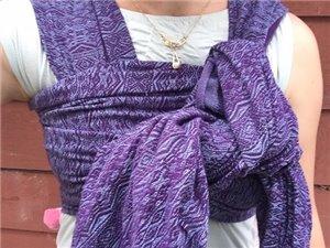 Ada Viozur Linen Woven Baby Wrap photo review