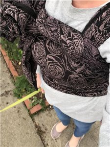 Rose Blossom Tri-Blend Woven Wrap photo review
