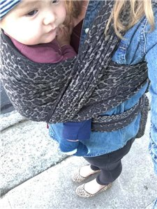 LEO Woven Baby Wrap photo review