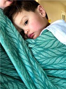 Silva Jade Hemp/Linen Woven Baby Wrap photo review