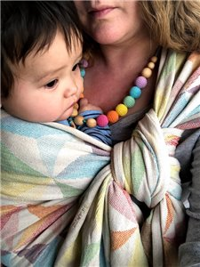 Zephyr Woven Baby Wrap photo review