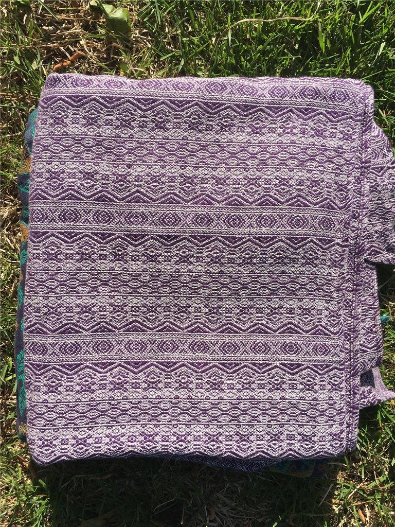 Ada Ultraviolet Hemp/Linen Woven Wrap photo review