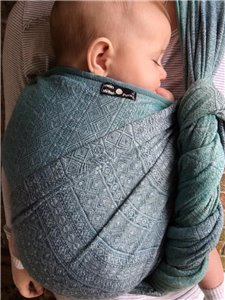 Alpen Glacier Woven Baby Wrap photo review