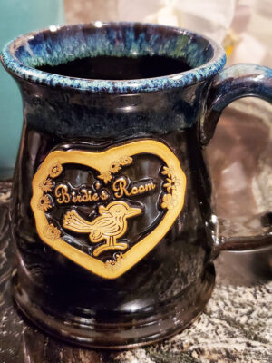 Birdie's Mug Galaxy Night