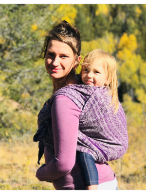 Didymos Ada Ultraviolet Woven Baby Wrap Hemp Blend