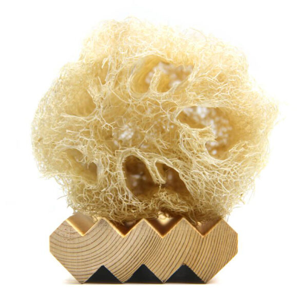 L'Olivier Cedar Zig Zag Wooden Soap Tray