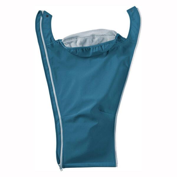 Mamalila Softshell Babywearing Jacket Teal