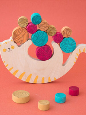 Meow Balancing Game by Londji 3 sq