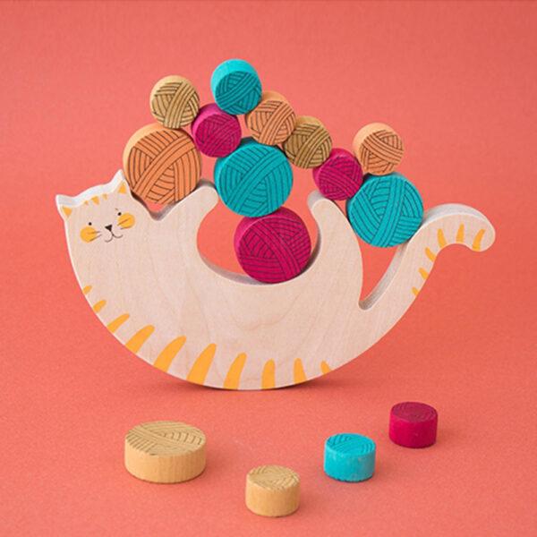 Meow Balancing Game by Londji 3 sq