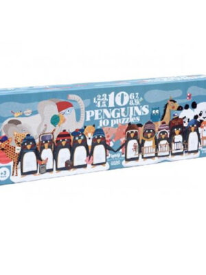 Londji Puzzle Counting Penguins