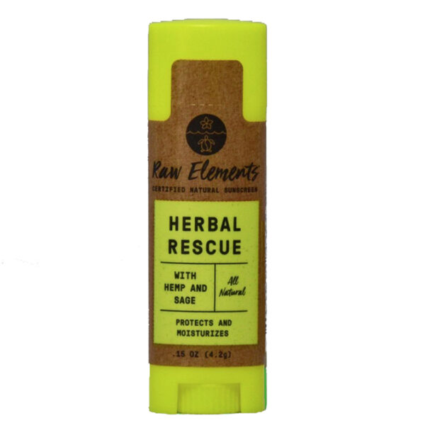 Raw Elements Herbal Rescue Lip Balm