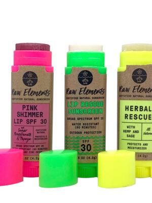 Raw Elements Lip Treatments 2