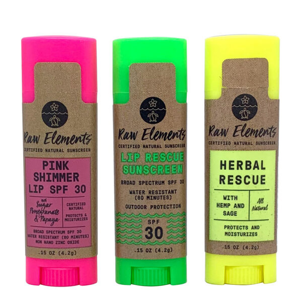 Raw Elements Lip Treatments