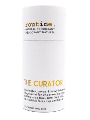 Routine Cream Natural Deodorant Stick Curator
