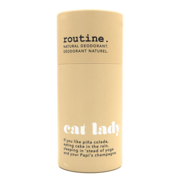 Routine Cream Stick Cat Lady