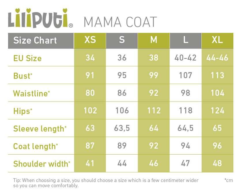 Liliputi 4-in-1 Babywearing Coat