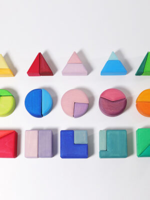 Triangle, Square, Circle Building Set by Grimm 3