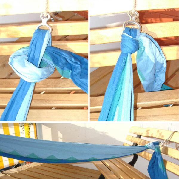 Wrap Swing figure 8 ring