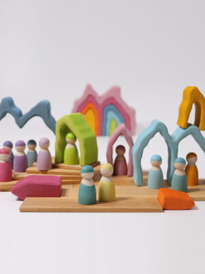 Grimm's Cave Arch Wooden Stacking Toy