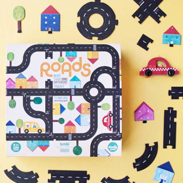 Roads Game by Londja Made in Spain