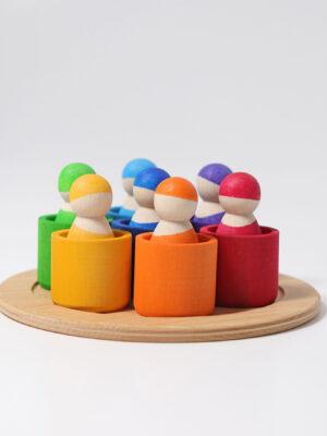Seven Friends in Bowls 1