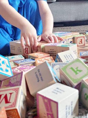 Blocks, Toys & Rattles