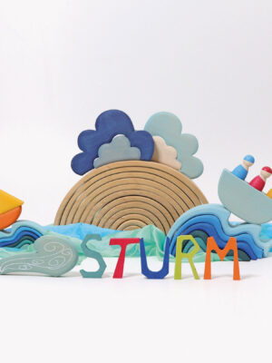 Weather Block Set by Grimm's 2