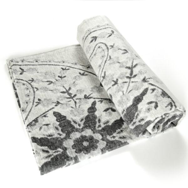 Meraviglia Grigio Brushed Cotton Blanket by Didymos Organic Cotton