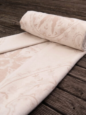 Meraviglia Crema Brushed Cotton Blanket by Didymos Organic Cotton
