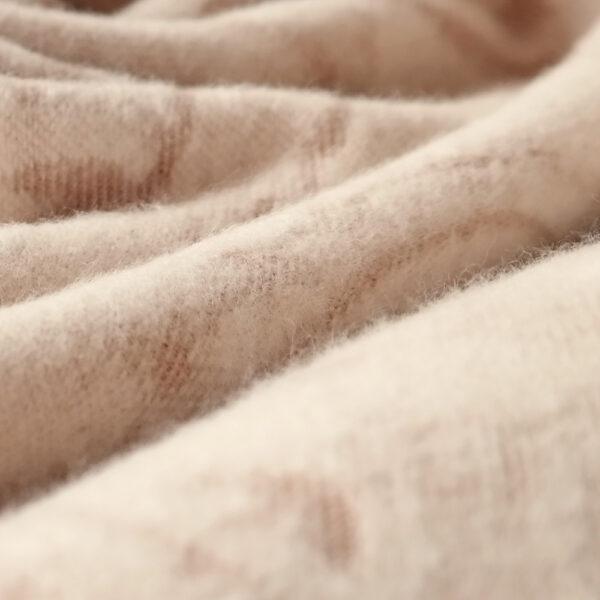 Meraviglia Crema Brushed Cotton Blanket by Didymos Organic Cotton