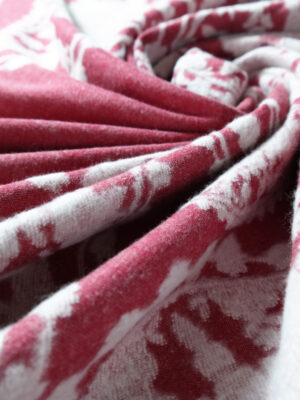Meraviglia Rosso Brushed Cotton Blanket by Didymos Organic Cotton