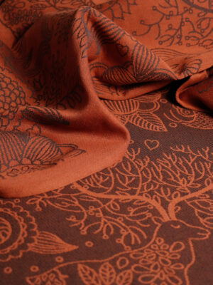 Didymos Magic Forest Copper Woven Baby Wrap