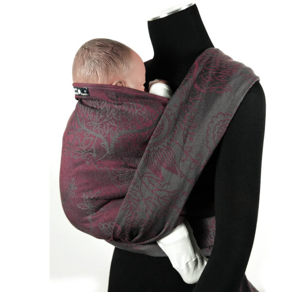 Didymos Magic Forest Berry Linen Woven Baby Wrap