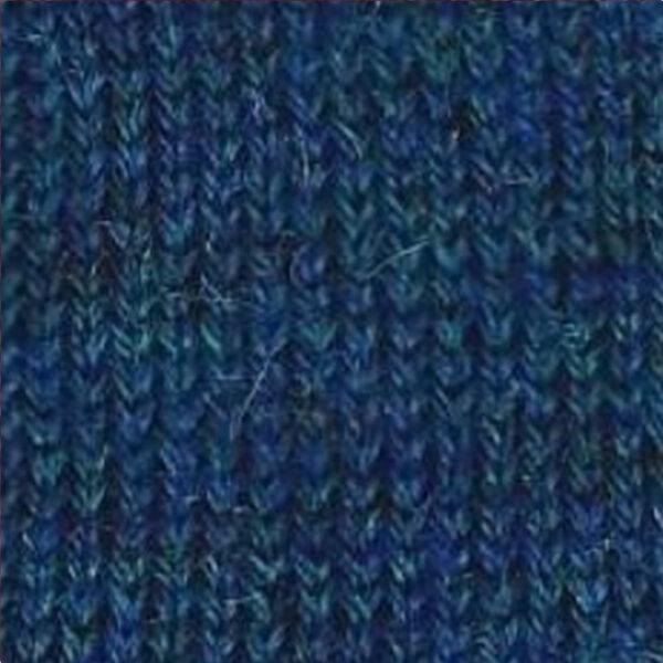 75 Petrol Blue Melange De Colore Baby Alapaca Knits