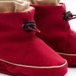 Red w/ Beige