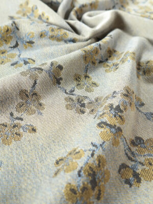DIDYMOS Blue Cherry Blossoms Woven Baby Wrap
