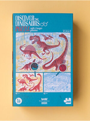 Discover the Dinosaurs Puzzle by Londji 3