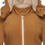 Saffron-Beige Coat