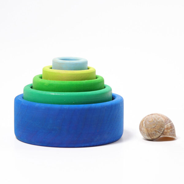 Stacking Bowls Ocean by Grimm 1