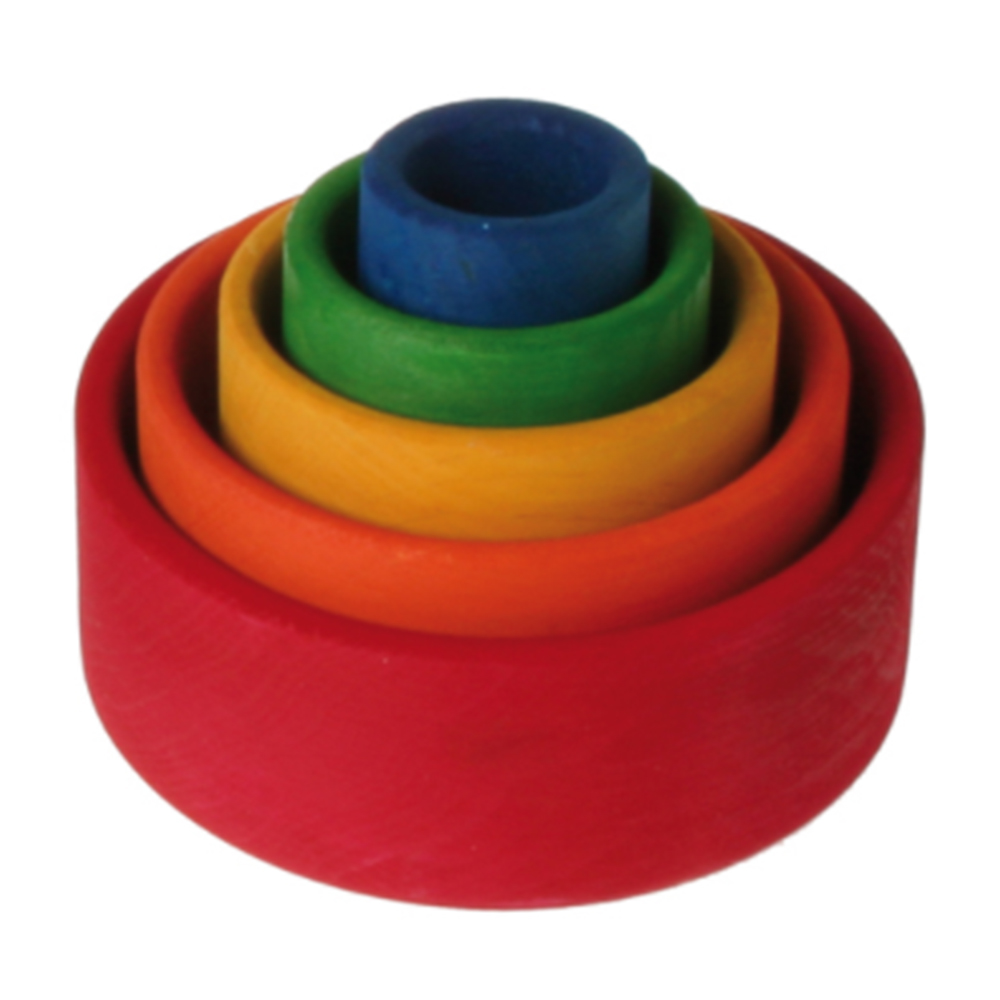 Stacking Bowls Red by Grimm