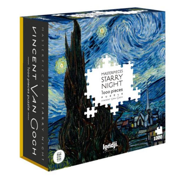 Starry Night Vincent Van GoghPuzzle by Londji