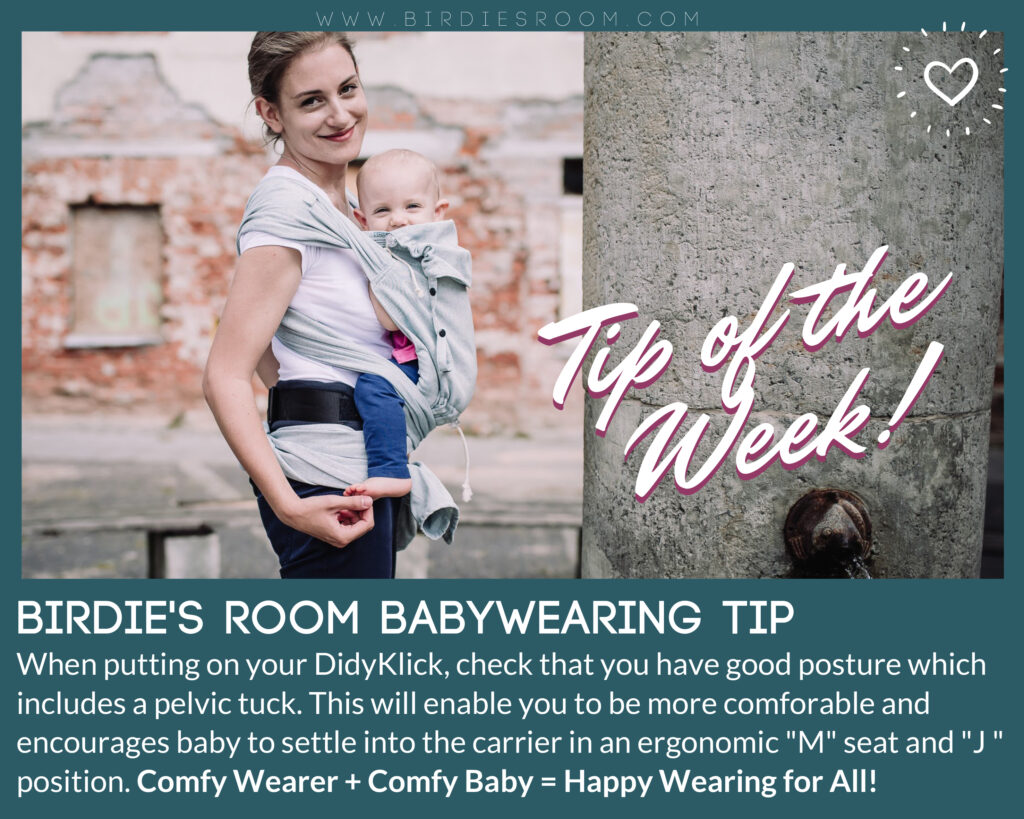 Pelvic Tile and Babywearing Birdie's Room