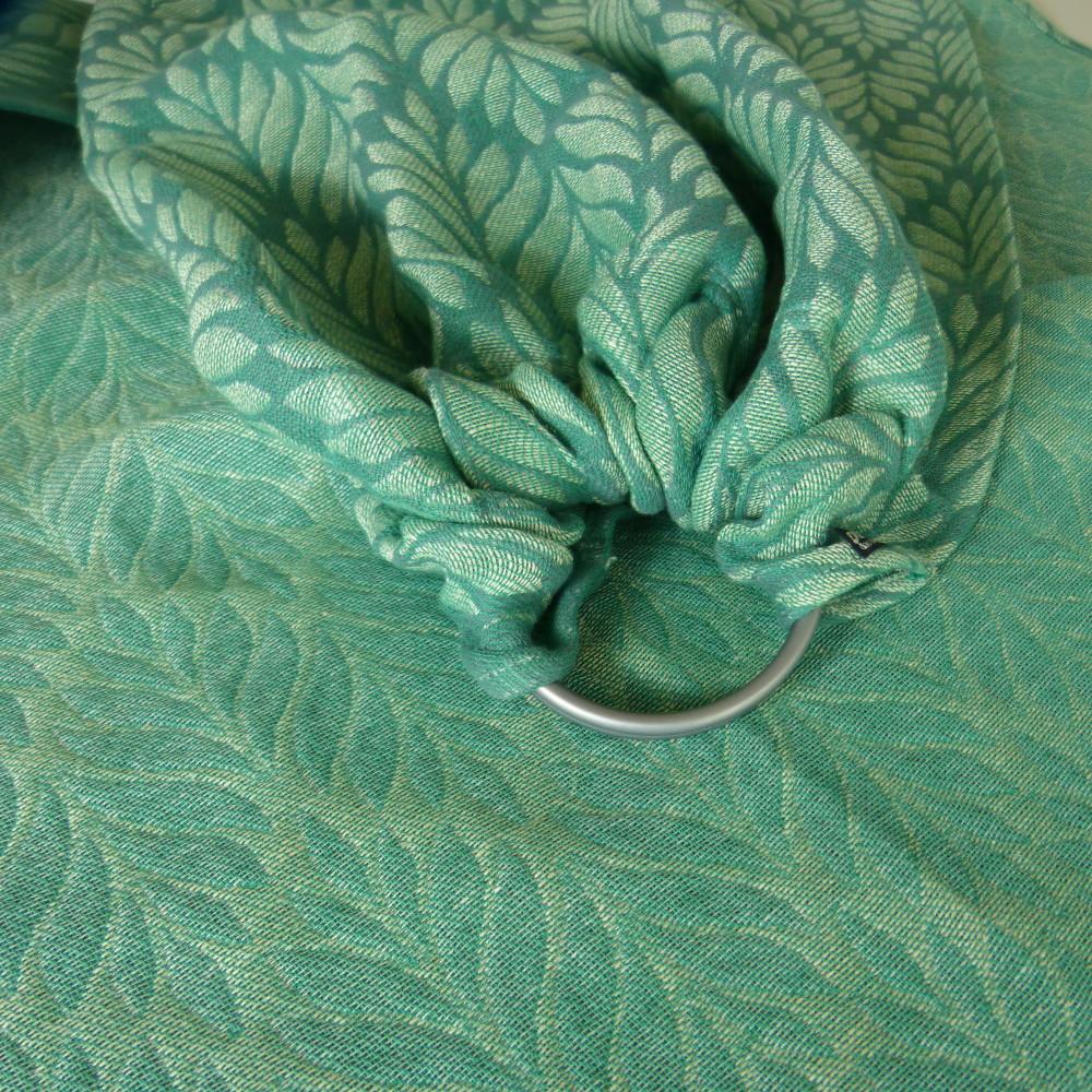 DidySling Silva Jade Tri-Blend Ring Sling by DIDYMOS
