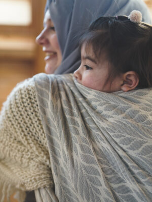 DIDYMOS Trias Argento Woven Baby Wrap Sling
