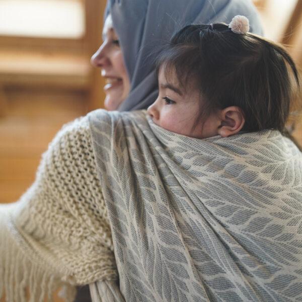 DIDYMOS Trias Argento Woven Baby Wrap Sling