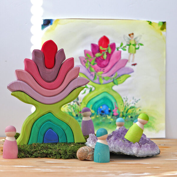Flower Stacking Set by Grimm 2