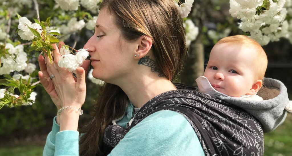 Keeping Baby Close with Didymos MegRob
